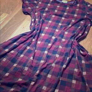 LuLaRoe Plaid Carly